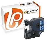 Bubprint Schriftband kompatibel für Dymo 45016 S0720560 für Labelmanager 150 160 210D 280 420P 450D PnP Labelpoint 100 150 200 250 350 Labelwriter 400