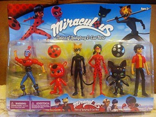 Set muñecos Miraculous Ladybug
