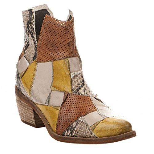 Boots femme - DKODE - Jaune - JOELLE - Millim Jaune