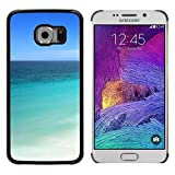 Print Motif Coque de protection Case Cover // V00002643 playa Riviera Cancún Tulum // Samsung Galaxy S6 EDGE (Not Fits S6)