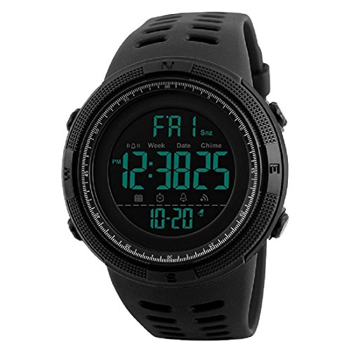 Skmei Multifunction Chronograph Digital Sports Watch For Men (Black)
