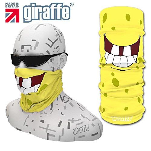 Preisvergleich Produktbild GIRAFFE Multifunktionstuch / Schlauchtuch Bandana fuer den alltaeglichen Gebrauch, Motorrad, Ski, Triathlon, Hiking, Laufen, Fahrrad, Angeln SNOWBOARD GIR460
