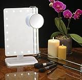 Cookey-espejo-cosmtico-iluminado-espejo-cosmtico-iluminado-de-la-vanidad-con-la-ampliacin-10x-mvil-20-LED-perfecto-para-el-dormitorio-Tabletop-cuarto-de-bao-vistiendo-afeitando-recorrido