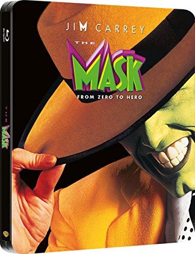 Die Maske, Steelbook, Blu-ray, Zavvi exklusiv mit deutschem Ton, nur 2.500 Stück, OOP, The Maski, Uncut, Regionfree,