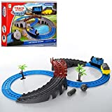 #5: Happy GiftMart Train Set And Track Set Bridge Battery Operated Best Quality Toy For Kids