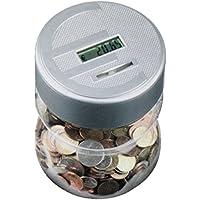 Preisvergleich für Spardose GYD - Digital mit Zählwerk Münzzähler Sparschwein Geld Sparen versch.