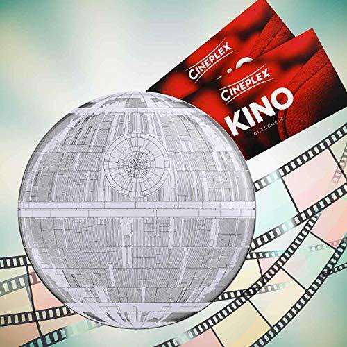 Cineplex Star Wars Filmdose Death Star mit 2 Kinogutscheinen 2D