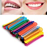Zgood 1 Lot Couleurs mélangées dentaire orthodontique Ligature Ties (1040pcs)