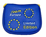 Team Europe Limited Edition Magnetische Mallet Golf Putter, 2 Ball, Spider, Odyssey Fang, Cameron Mallet