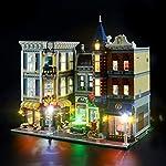 LIGHTAILING-Set-di-Luci-per-Piazza-Assemblea-Modello-da-Costruire-Kit-Luce-LED-Compatibile-con-Lego-10255-Non-Incluso-nel-Modello