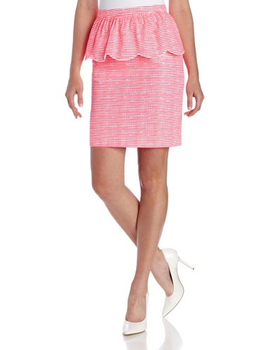 Lilly Pulitzer-muster (Lilly Pulitzer Damen Thymianrock - Pink - 40)