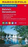 MARCO POLO Freizeitkarte Holstein, Ostseeküste 1:100.000 -