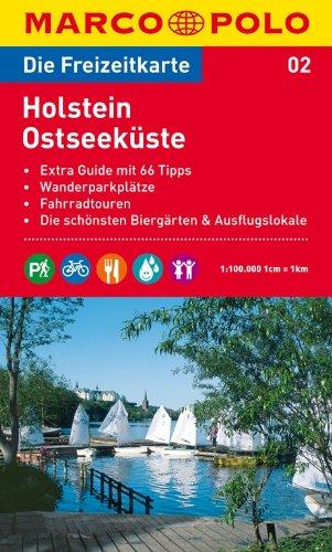 Preisvergleich Produktbild MARCO POLO Freizeitkarte Holstein, Ostseeküste 1:100.000