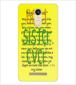 PrintDhaba Quote D-3923 Back Case Cover for XIAOMI REDMI NOTE 3 (MEDIATEK) (Multi-Coloured)