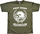First Order Combat School Grün T Shirt Extra Extra Large