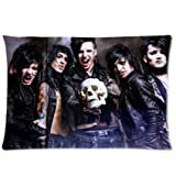 Black Veil Brides Custom Pillowcase Standard Size 20x30 by dream catcher online