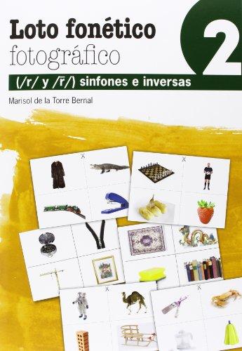 Loto Fonetico Fotográfico - Volumen 2 (Reeducacion Logopedica)