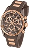 Jacques Lemans Herren-Armbanduhr XL Liverpool Professional Chronograph Quarz Silikon 1-1805B