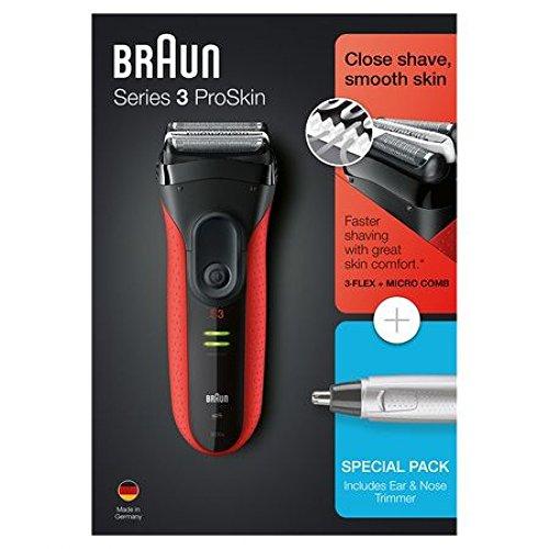 Braun PACK Series 3 ProSkin 3030S + EAR & NOSE TRIMMER
