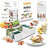 mealkitt portioskontrolle Werkzeug + Die Get Lean Plan & Training Guide | weitere über lebensmittelgruppen und Mahlzeit Prep | Kalorien zählt für Sie | kommt mit erecipes & Food Guide | BPA-frei
