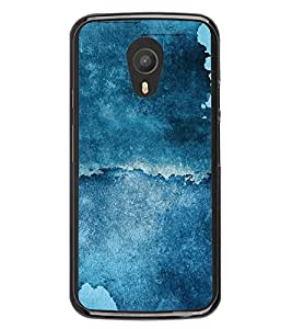 Abstract Blue Pattern 2D Hard Polycarbonate Designer Back Case Cover for Meizu M1 Note