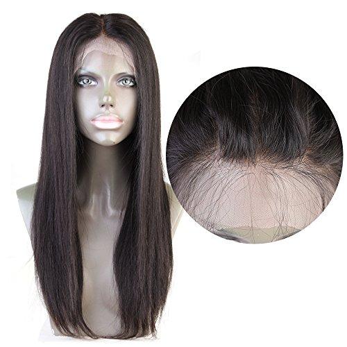 Cbwigs Haarverlängerung, 18 inch 150% density, , #1b, Stück: 1