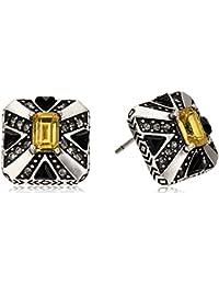 House of Harlow 1960 Art Deco Stud Earrings