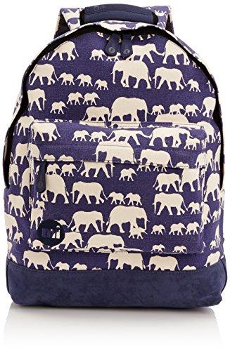 Mi-Pac Premium, Mochila Tipo Casual, 41 cm, 17 Litros, Elephants Blue
