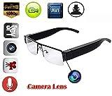 EPTEK @ 16GB TF Karte +1080P HD Mini Spy versteckte Digital Video Brille Kamera Eyewear DVR Camcorder Brillen Nanny Kamera DV Video recorder