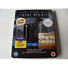 Total Recall : 2 Disc Extended Director's Cut HMV Exclusive Blu-Ray Steelbook