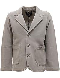 8856T giacca bimbo blazer WOOLRICH cotone grigio grey jacket cotton kid boy 5bc68af6169