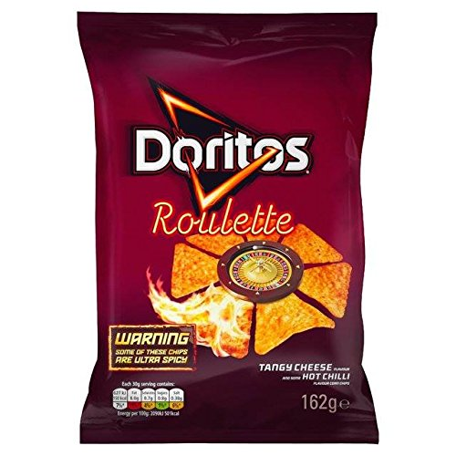 Doritos Roulette Hot Tortilla Chips 162g