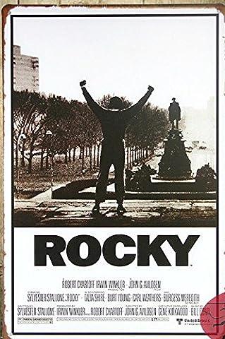 De haute qualité faits main affiche de film ROCKY Affiche