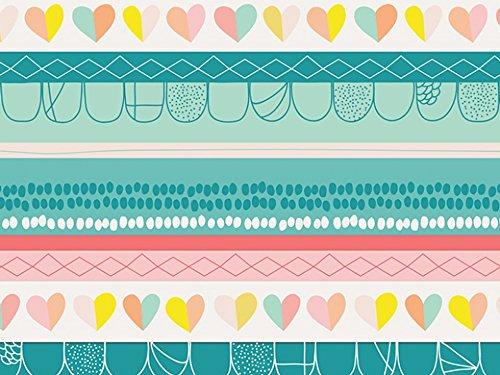 Art Gallery Stoffe Was Herzen Unschuld Stretch Jersey Knit Kleid Stoff-Pro Meter - Knit Kleid Herz