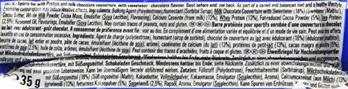 PowerBar Protein Plus Bar – Low Sugar High Protein – Chocolate Brownie 30x35g