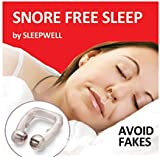 STOP SNORING DEVICE- MAGNETIC NOSE CLIP SNORING RING-BEST SELLING EFFECTIVE SOLUTION -IF YOU ARE SUFFERING FROM APNEA