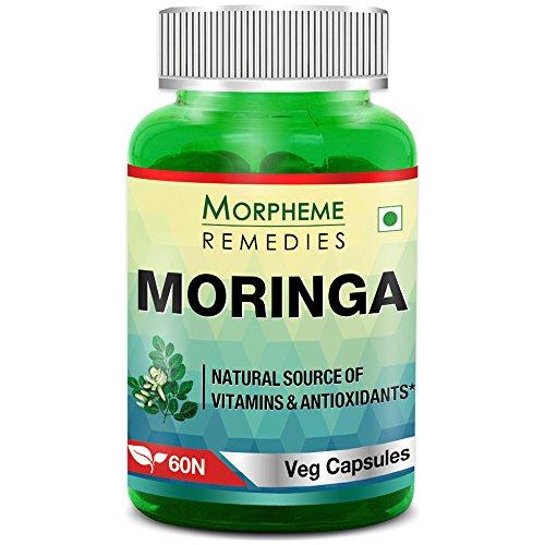 Morpheme Moringa 500mg Extract 60 Veg Caps
