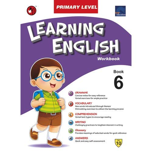SAP LEARNING ENGLISH PRIMARY LEVEL WORKBOOK 6, NONE [Paperback] NONE