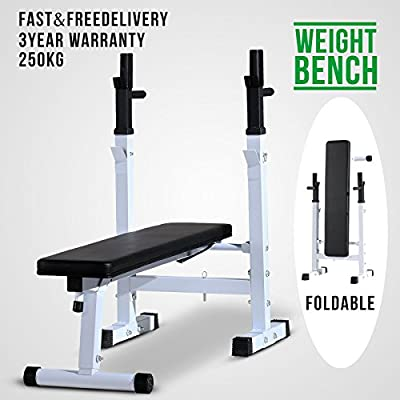 Schindora Weight Bench Folding Workout Heavy Duty for Shoulder Chest Bench Press Home Exercise Equipment by Schindora