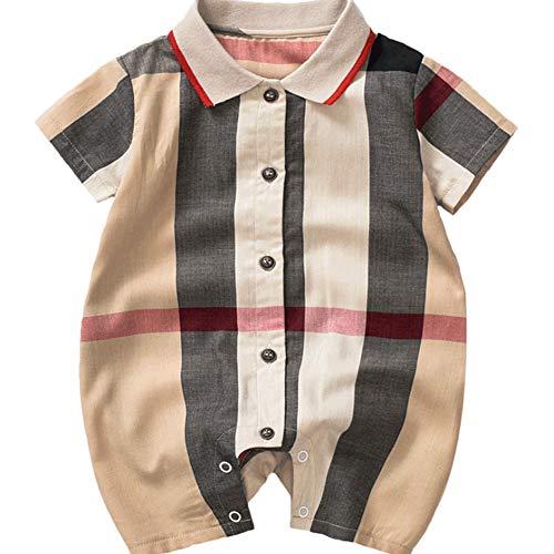 HBOY Vêtements pour bébé, Combinaison, Barboteuse à Manches Courtes, bébé, Tenue, Robe d'été-73cm