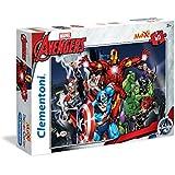 Clementoni - Puzzle maxi, Vengadores/Avengers, 60 piezas (267491)