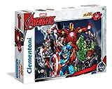 Clementoni- Avengers Supercolor Puzzle Maxi, 60 Pezzi, 26749