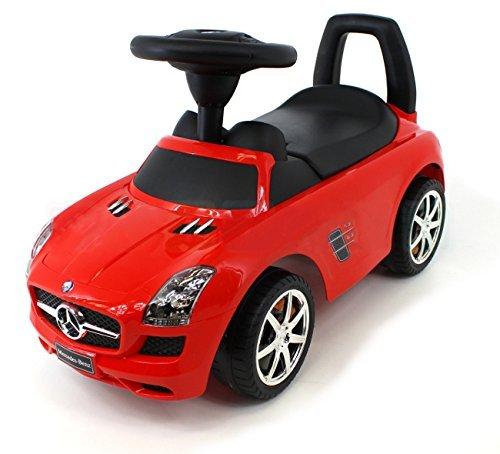 COIL Kinderfahrzeuge Kinderauto Rutschauto Rutscher Spielzeug für Kinder Spielzeugauto (RED Mercedes)