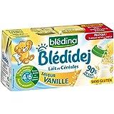 Blédina blédidej saveur vanille dès 4/6 mois 2 x 25cl - ( Prix Unitaire ) - Envoi Rapide Et Soignée