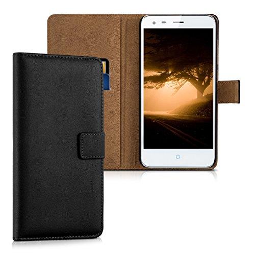 kwmobile ZTE Blade S6 Plus LTE 4G Hülle - Kunstleder Wallet Case für ZTE Blade S6 Plus LTE 4G mit Kartenfächern & Stand
