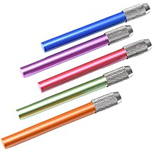 2pcs metal lápiz Lengthener extensor soporte, color al azar
