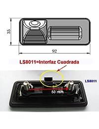 Cámara reversible del vehículo de integrada en caso maneja la cámara de marcha atrás que invierte para Audi A1 VW…