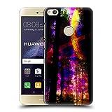 Head Case Designs Offizielle Haroulita Saturn-Blitz Raum Ruckseite Hülle für Huawei P8 Lite (2017)