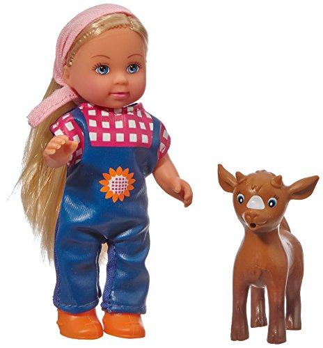 Simba 5737108 muñeca - muñecas (Chica, Multi, Feeding Bottle, Doll Pet, Femenino, Sheep, Ampolla)