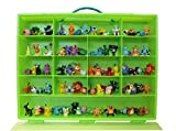 Pokemon-TM-Compatible-Organizer-Perfect-Pokemon-TM-figure-Compatible-Storage-Case-Fits-Up-Approx-200-Characters,-[Sturdy-Case-And-Carrying-Handle--Green-/-Lime]-Not-with-any-figure